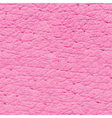 Pink leather seamless texture vector image