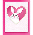 Handmade Easter card vector image vector image