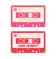 Song request card vector image