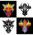 dragon mask vector image