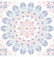 seamless Greek floral ornament Meander vector image