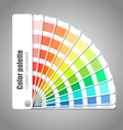Color palette guide vector image vector image