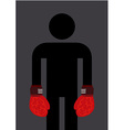 Brain Boxing vector image