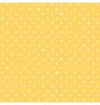 Yellow Star Polka Dots Background vector image