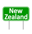 New Zealand road sign vector image