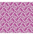 lace heart seamless pattern vector image