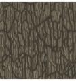 Seamless cartoon tree bark texture vector image