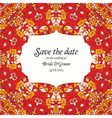 Save The Date Hand drawn vector image vector image