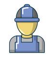 auto car mechanic icon cartoon style vector image