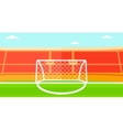 Background of soccer stadium vector image
