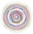 Color spiral vector image