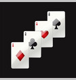 game cards - modern realistic isolated clip vector image
