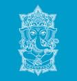 lord ganesha vector image