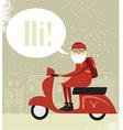 Mr Santa vector image vector image