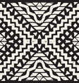 hand drawn painted seamless pattern tribal vector image