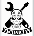 technician vector image