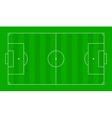 Textured grass soccer field Football green field vector image