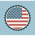 Usa stamp vector image