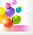 Watercolor Balloon Card