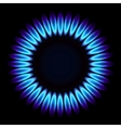 Natural gas flame vector image