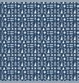 seamless ethnic pattern scandinavian pattern vector image