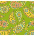 Green floral summer seamless pattern vector image vector image
