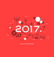 Future trends and prospects in business process vector image