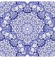 Seamless background of circular patterns Blue vector image