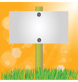summer sign vector image