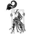 laksmana vector image