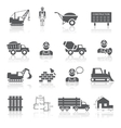 Construction pictograms collection vector image
