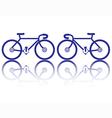 bike vector image