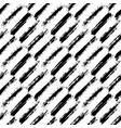 brush strokes painted pattern diagonal vector image
