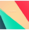 Abstract background Multicolored paint stripes vector image