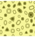 Diamonds pattern vector image