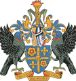 St Lucia Coat-of-arms vector image