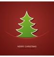 modern christmas tree background vector image