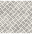 Seamless Freehand Geometric Rough Lines vector image