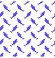 Fresh Fish Seamless Pattern vector image vector image