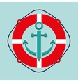 Sea and nautical equipment vector image