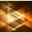 Abstract background shiny triangle vector image