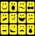 emotions set vector image