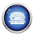Hamburger icon vector image