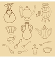 Kitchenware stylish vector image