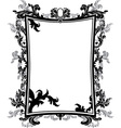 frame stencil vector image