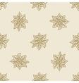 poinsettia christmas flower pattern seamless vector image