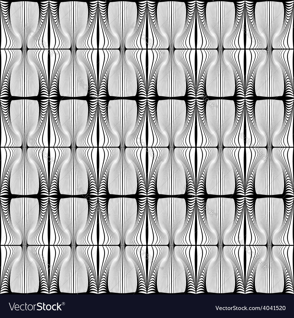 Design seamless striped decorative pattern vector