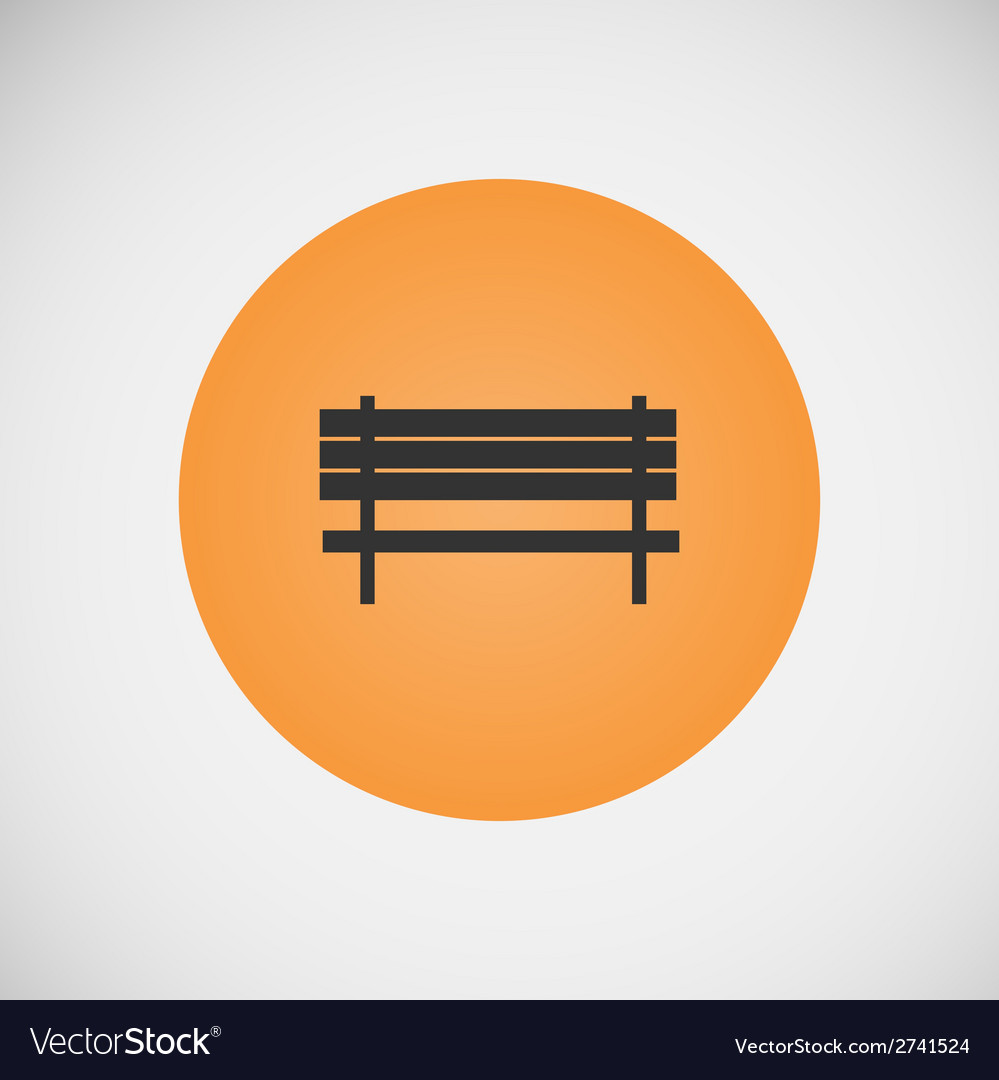 Vintage benches for parks and streets vector