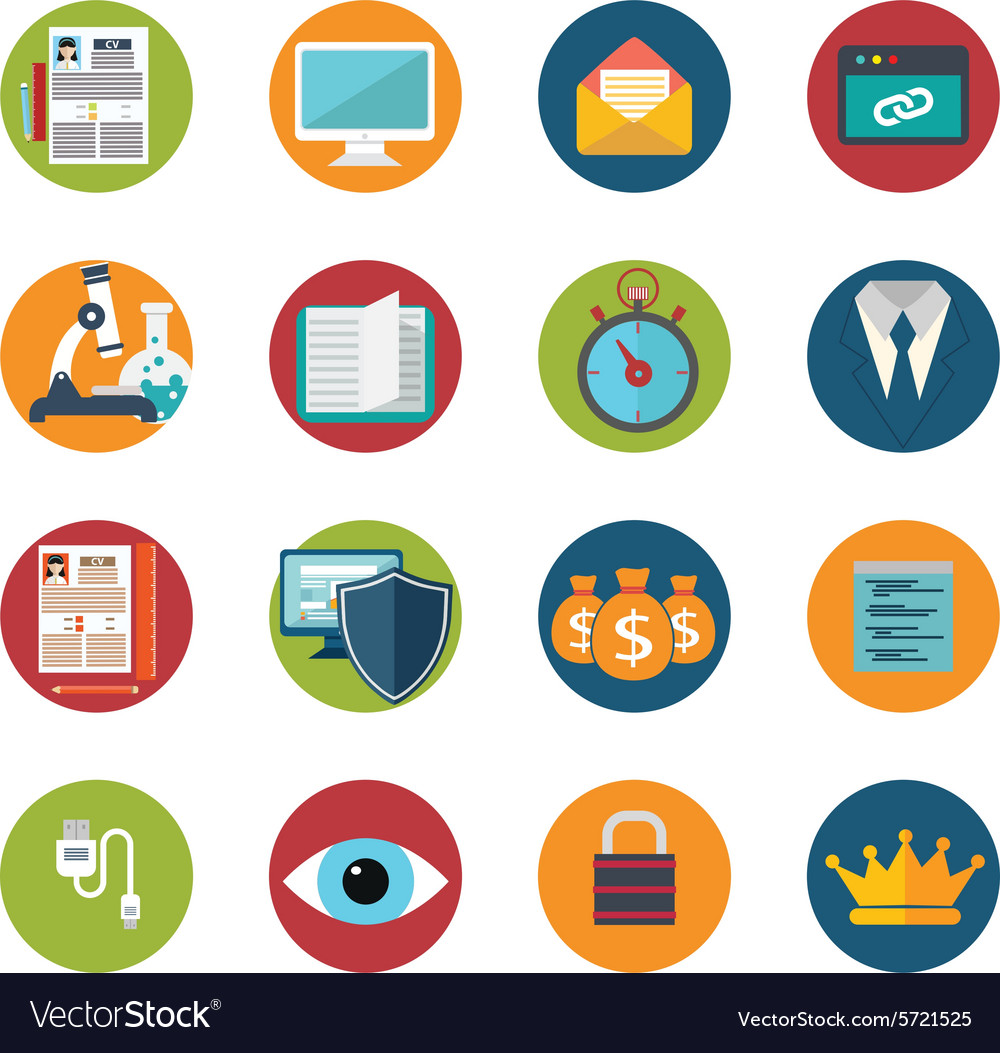 Web design objects delivery business office and vector