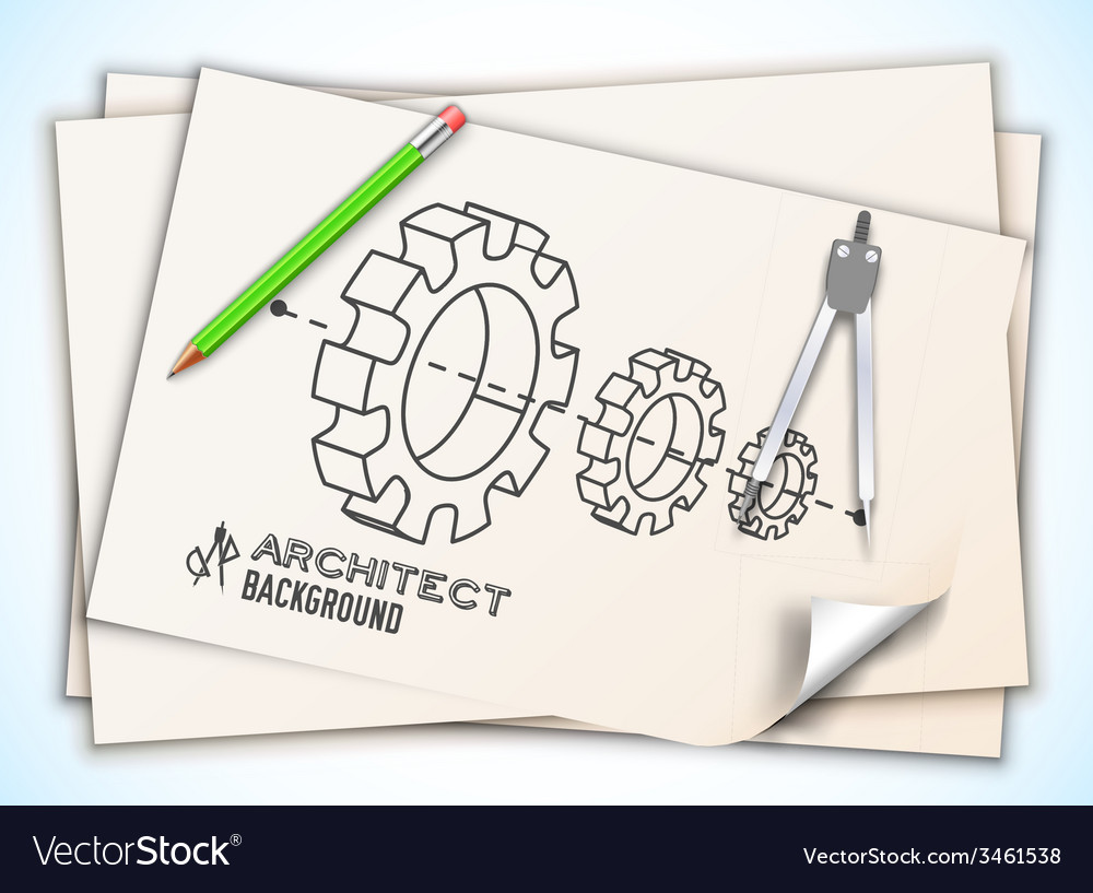 Architectural background eps10 contains vector